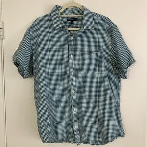 Men's XL Casual Short Sleeve button down shirt